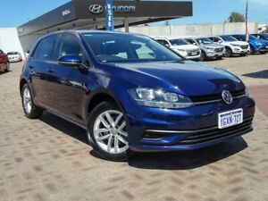 2017 Volkswagen Golf 7.5 MY18 110TSI DSG Blue 7 Speed Sports Automatic Dual Clutch Hatchback Morley Bayswater Area Preview
