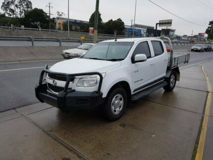 2012 Holden Colorado RG LX (4x4) 6 Speed Automatic Crew C/Chas