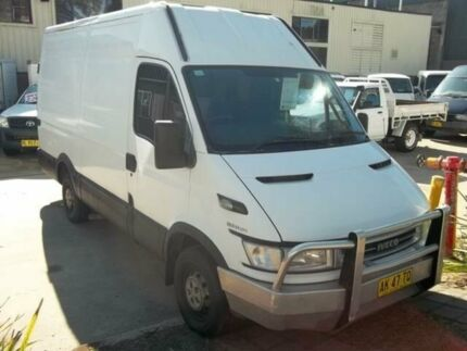 2005 Iveco Daily 35S14 White Van 2.3l Cardiff Lake Macquarie Area Preview