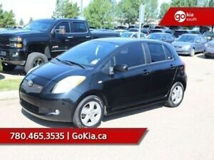 2007 Toyota Yaris RS; 5 SPEED MANUAL, AIR CONDITIONING, GREART O
