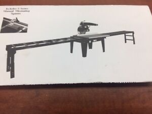 "TABLE SAW 16 "" RADIAL ARM SAW WITH CONVEYER"