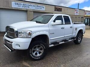 2008 Dodge Ram 1500 Laramie-4WD-LIFTED-LEATHER-LOADED-SUNROOF