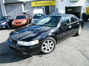 2002 Cadillac Seville STS . CUIR . TOIT OUVRANT