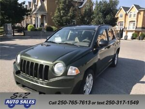 2007 Jeep Compass 4WD local one owner!