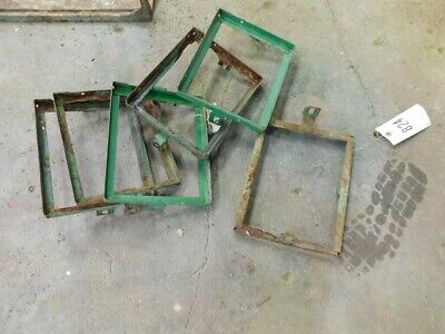 Jd 420 Tractor 6 Small 6 V. Battery Top Tie Down Brackets Part Aa7338r Tag 824