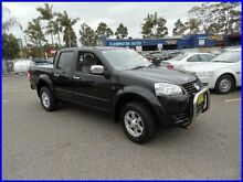 2012 Great Wall V200 K2 (4x2) Black 6 Speed Manual Dual Cab Utility Homebush West Strathfield Area Preview