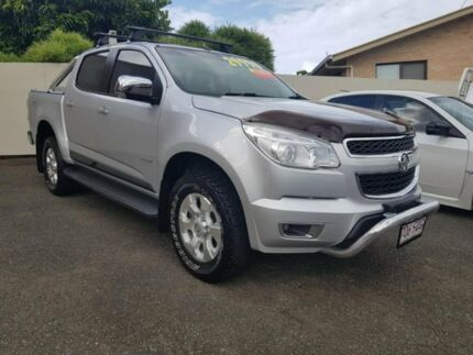2013 Holden Colorado RG MY14 LTZ Crew Cab Silver 6 Speed Sports Automatic Utility Monkland Gympie Area Preview