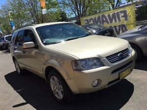 2005 Ford Territory SX Ghia (4x4) Champagne 4 Speed Auto Seq Sportshift Wagon Campbelltown Campbelltown Area Preview