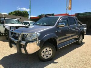 2010 Toyota Hilux KUN26R 09 Upgrade SR5 (4x4) Grey 4 Speed Automatic Dual Cab Pick-up
