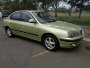 2003 Hyundai Elantra XD GL Green 4 Speed Automatic Sedan Clontarf Redcliffe Area Preview