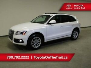 2015 Audi Q5 PRORESSIV; AWD, LEATHER, NAV, PANORAMIC SUNROOF, S