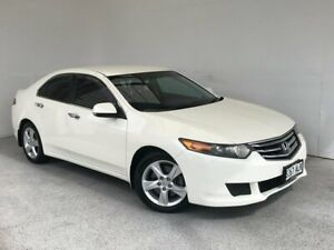 2011 Honda Accord Euro CU MY11 White 5 Speed Automatic Sedan Mount Gambier Grant Area Preview