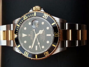 ROLEX YACHT MASER AND ROLEX SUBMARINER 15000$ BOTH....LES DEUX