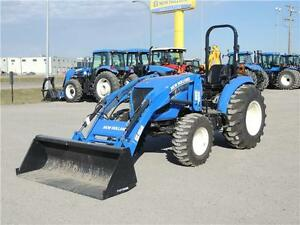 2015 New Holland Boomer 47 - 46hp, FWA, Loader, 3pt. hitch