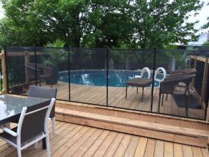 Removable Swimming pool fence Oshawa-Durham: Child Safe fence