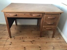 1960s Reproduction Style Desk and Chair