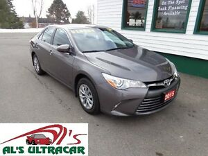 2015 Toyota Camry LE only $143 bi-weekly all in!