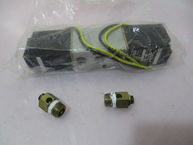 Koganei 200-4E2 Solenoid Valve, AC100V, 200-4E2-70-100, 423118