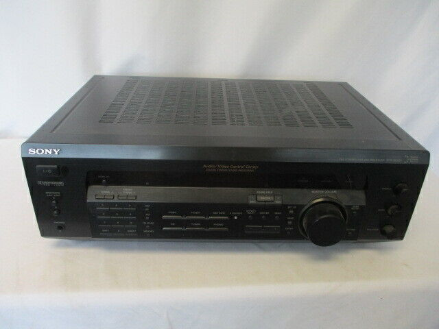 Sony STR-SE391 AM/FM 5.1 Channel Surround Sound AV Stereo Receiver Tested