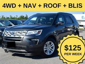 2019 Ford Explorer XLT 4WD ROOF NAV  ACTIVE X SEATS BLISS
