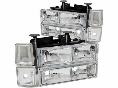 For 1994-1999 Chevrolet C1500 Suburban Headlight Set Anzo 79681KN 1998 1997 1995