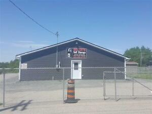 Office Building and Heated Storage Units for Sale