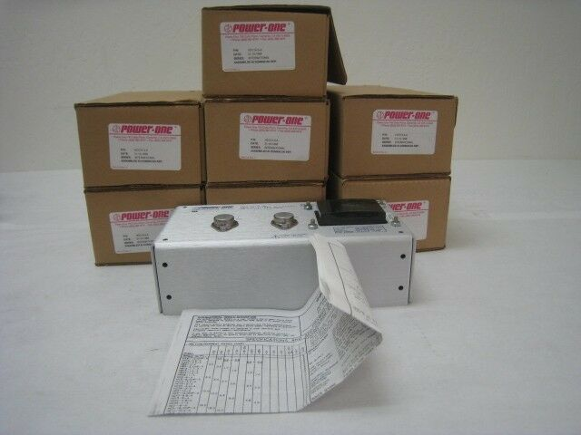 Lot Of 7 New Power One Hcc15-3-a 12vdc Or 15vdc Power Supplies