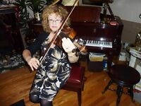 VIOLIN MUSIC LESSONS FALL SESSION 2017