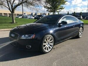2010 AUDI A5 2DR COUPE AWD|ACCIDENT FREE|LEATHER|SUNROOF|BLUETOO