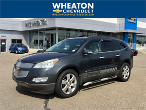 2009 Chevrolet Traverse LTZ AWD, Nav, DVD