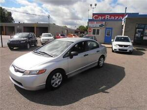 2008 HONDA CIVIC DX-5 WITH AC POWER FEATURES EASY FINANCE