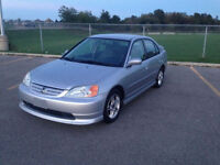 2002 Honda Civic Special Edition (SE), 105,000km