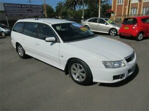 2005 Holden Berlina VZ White 4 Speed Automatic Wagon