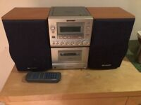 old but working stereo system to give away for free