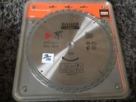 Bahco TCT circular saw blade 8501-31F 315x40t