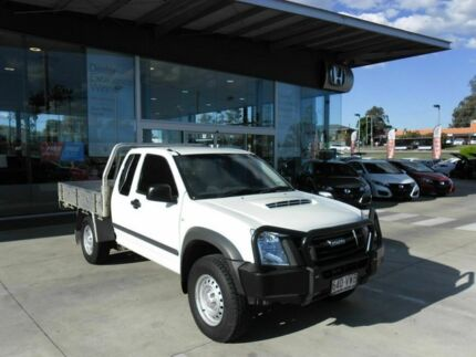 2010 Isuzu D-MAX MY10 SX Space Cab White 5 Speed Manual Cab Chassis Yamanto Ipswich City Preview