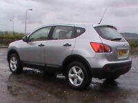 NISSAN QASHQAI VISA 1.6 SILVER 1 YRS MOT NEW BRAKES AND CLUTCH FITTED CLICK ON VIDEO LINK TO SEE CAR