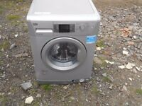 BEKO WMB714422S,EXCELLENCE, 7 KG, 1400 SPIN, A++ RATED WASHING MACHINE IN SILVER, UNDER 2 YEAR OLD