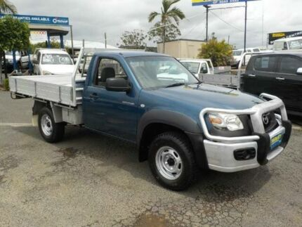 2007 Mazda BT-50 UNY0E3 DX Blue 5 Speed Manual Cab Chassis
