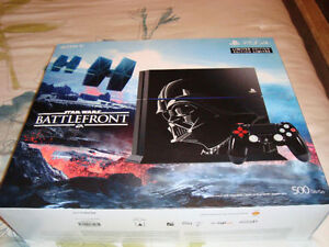 PS4 LIMITED EDITION STAR WARS BATTLE FRONT BRAND NEW