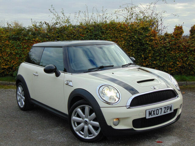 MINI HATCH COOPER 1.6 COOPER S 3d (white) 2007