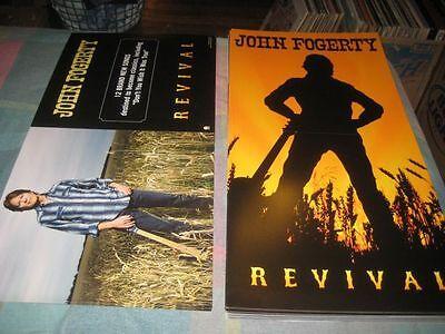 JOHN FOGERTY-(revival)-1 POSTER FLAT-2 SIDED-12X24-NMINT-RARE