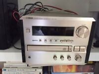 Yamaha CRX clear sound player and speakers
