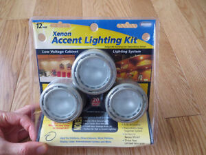 XENON ACCENT UNDER CABINET LIGHTING KIT - BRAND NEW