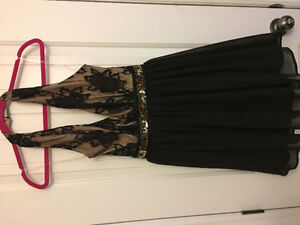 Prom dress size small.  Halter top.  Can drop off