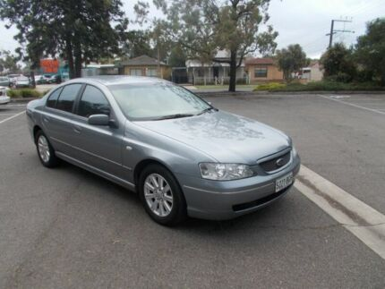 2003 Ford Falcon BA Futura Silver 4 Speed Auto Seq Sportshift Sedan Alberton Port Adelaide Area Preview