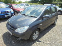 Hyundai Getz 1.4 CDX, LOW MILES (grey) 2006