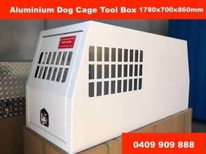 Dog Cage Aluminium Tool Box 1780*700*850 Powder Coated