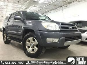 2003 Toyota 4Runner Limited V8 FULL / CUIRE / TOIT / TRES PROPRE