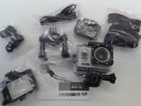 HD Action Sports Camera - Waterproof - Different Mounts - Only £15 - Brand New and Boxed